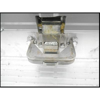 Pédale de fermeture INOX - Bétaillère BETHALU