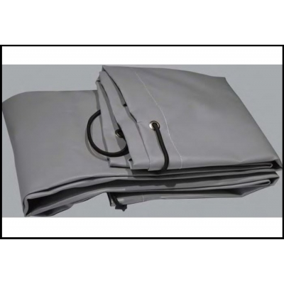 Bâche plate grise pour remorque 1.95 x 1.15